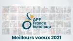 APF France handicap Aquitaine Sud, vous souhaite une bonne année 2021 !!
